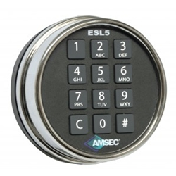 AMSEC digital lock, ESL5, ESL Electronic Lock, Electronic Locks